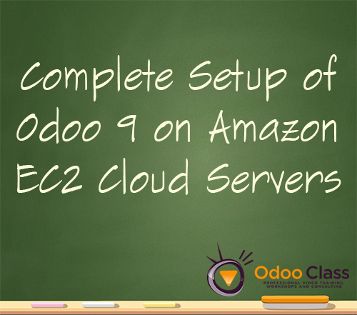 Complete Odoo 9 Setup on Amazon EC2 Cloud Servers