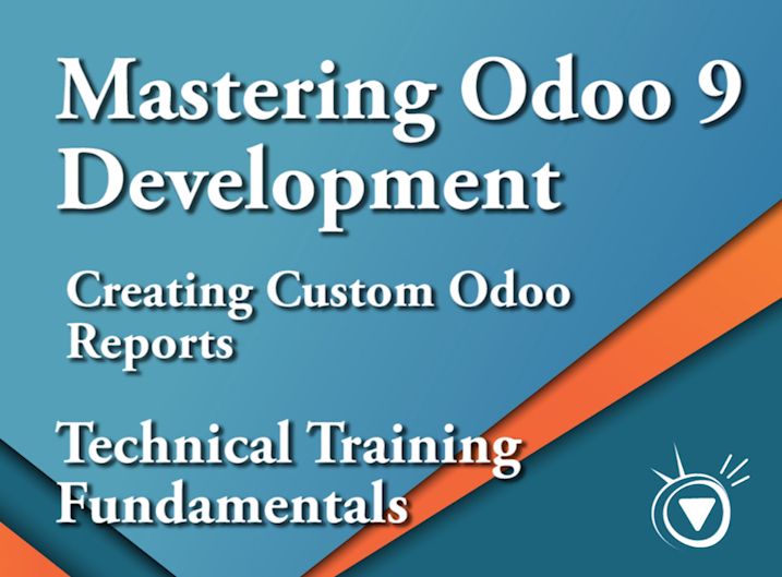 Mastering Odoo 9 Development - 8. Creating Custom Reports
