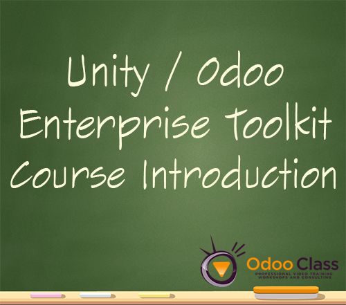 Unity | Odoo Enterprise Toolkit Course Introduction