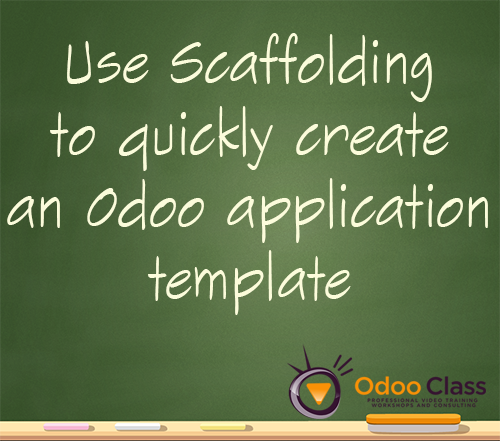Learn Odoo Scaffolding