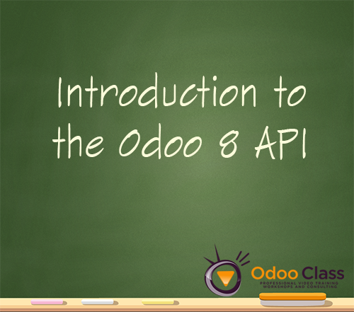 Introduction to Odoo 8 API
