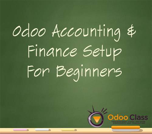 Odoo 8 Accounting & Finance Setup for Beginners
