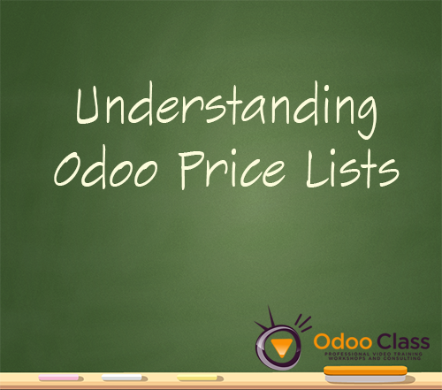 Using Pricelists in Odoo
