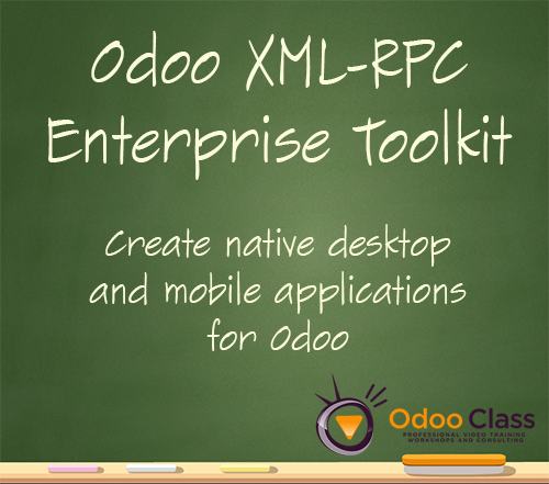 Odoo XML-RPC Enterprise Toolkit - Build native desktop and mobile applications