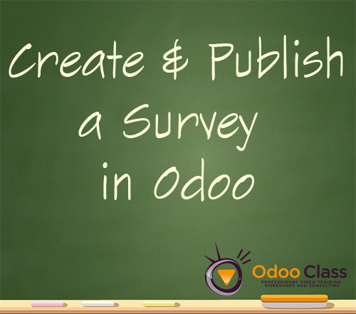 Create and Publish a Survey in Odoo