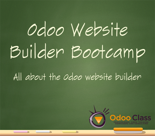 Odoo Website Builder Bootcamp