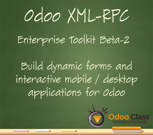Odoo XML-RPC Enterprise Toolkit - Build native desktop and mobile applications - 2