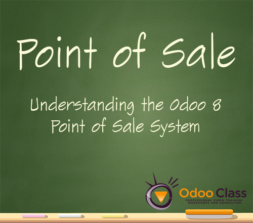 Understanding Point of Sale in Odoo 8