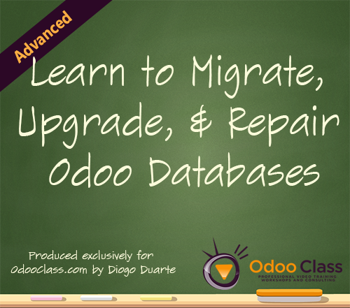 Learn to Migrate, Upgrade and Repair Odoo Databases