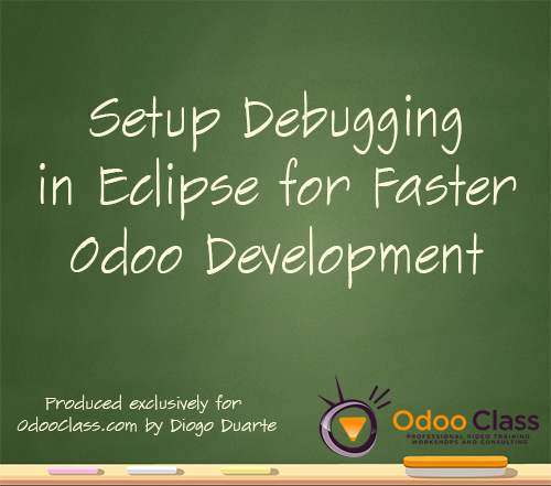 Setup debugging in Eclipse for faster Odoo Development