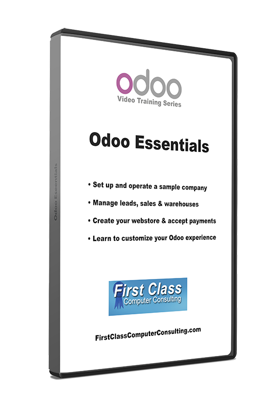 Odoo 8 - Essentials Video