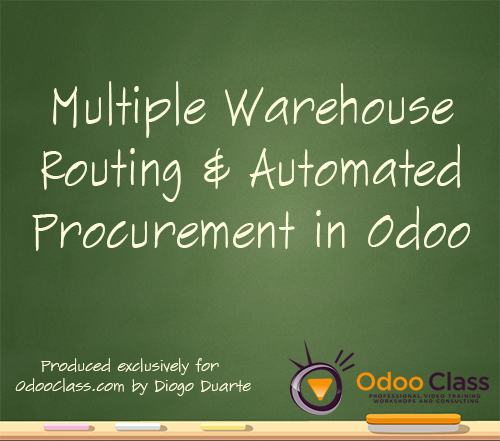 Multiple Warehouse Routing & Automated Procurement in Odoo