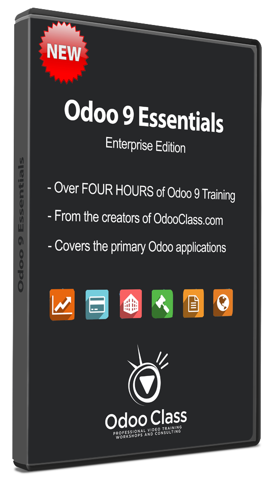 Odoo 9 - Essentials Video (Enterprise Edition)