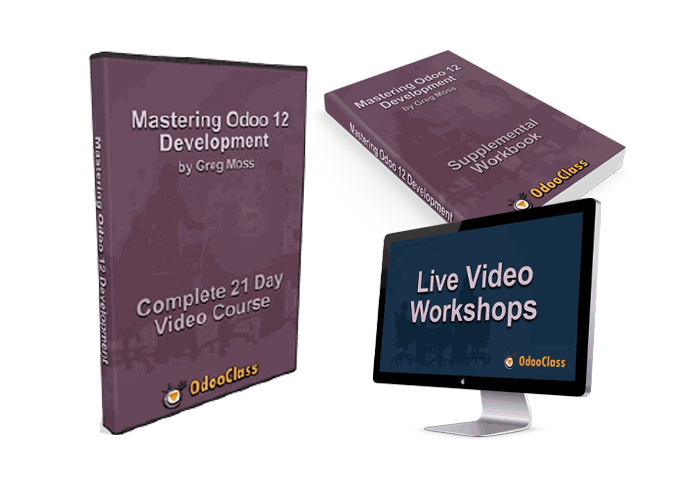 Odoo Training videos for learning Odoo or developing Odoo