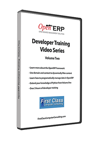 Odoo / OpenERP - Developer Training Volume Two