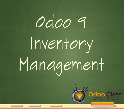 Odoo 9 Inventory Management