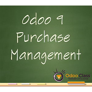 Odoo 9 Purchase Management