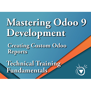 Creating Custom Reports - Mastering Odoo 9 Development Part 8