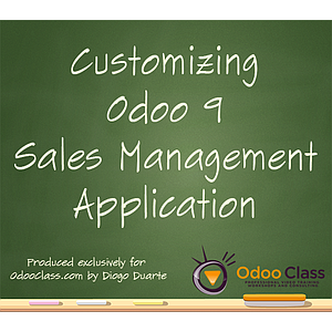 Customizing Odoo 9 Sales Management
