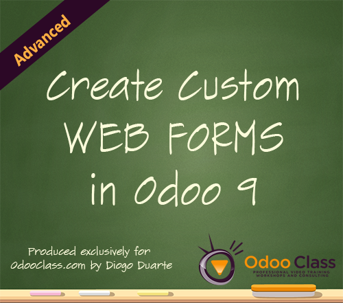 Create Custom Web Forms in Odoo 9