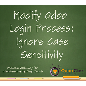 Modify Odoo Login Process: Ignore case sensitivity