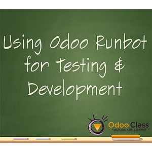 Using Odoo RunBot for Testing and Development