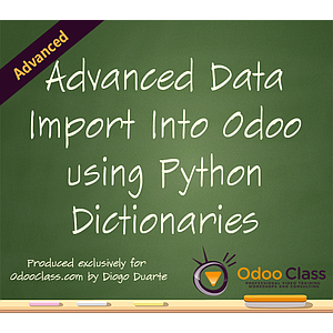 Advanced Data Import into Odoo Using Python Dictionaries