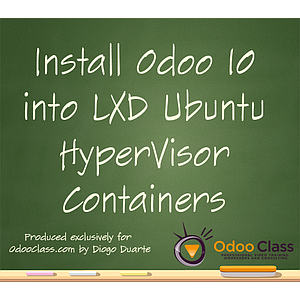 Install Odoo 10 into LXD Ubuntu HyperVisor Containers
