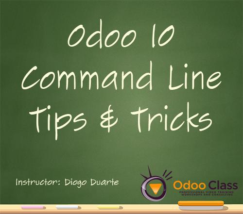 odoo 10 command line tips and tricks. Black Bedroom Furniture Sets. Home Design Ideas