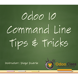Odoo 10 - Command Line Tips & Tricks