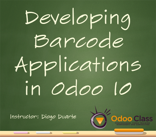 Developing Barcode Applications in Odoo 10