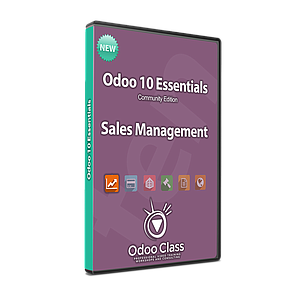 Odoo 10 Essentials - Sales Management