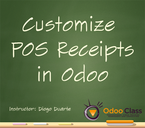 Customize POS Receipts in Odoo