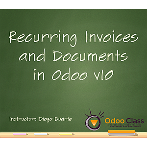 Recurring Invoices & Documents in Odoo v10