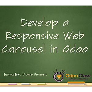 Develop a Responsive Web Carousel in Odoo