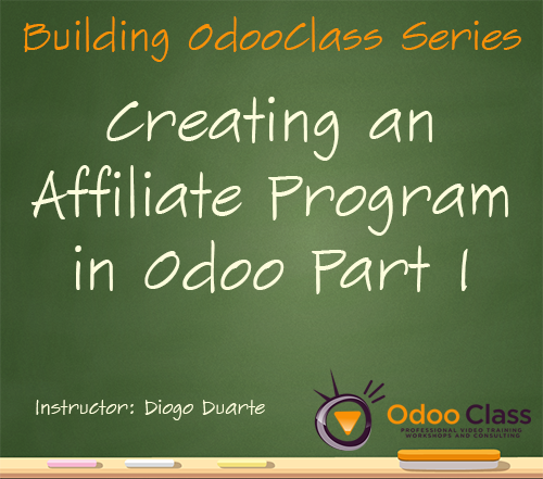 Creating an Affiliate Program in Odoo