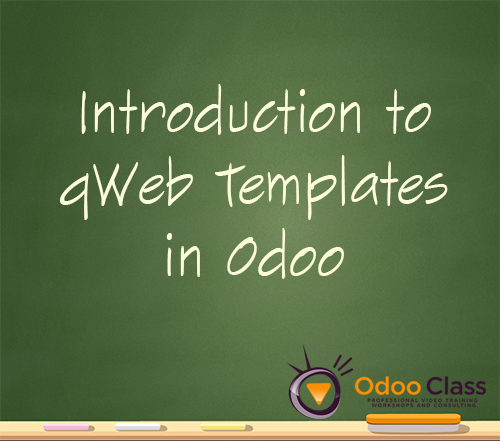 Introduction to Odoo qweb templates