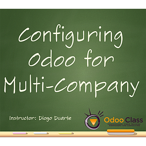 Configuring Odoo for Multi-company