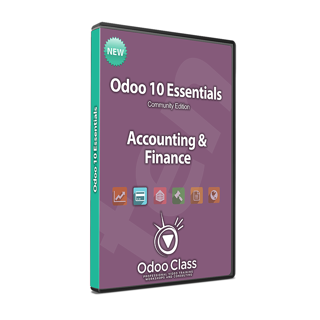 Accounting & Finance - Odoo 10 Essentials