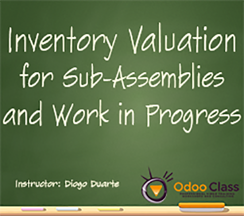 Inventory Valuation for Sub-Assemblies / Work in Progress
