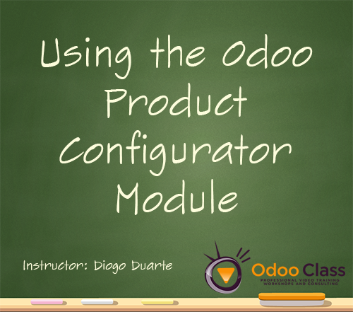 Using the Odoo Product Configurator Module