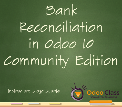 Bank Reconciliation in Odoo 10 Community Edition
