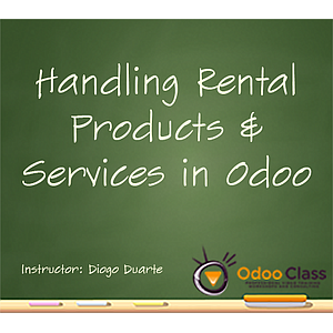 Handling Rental Products and Services in Odoo