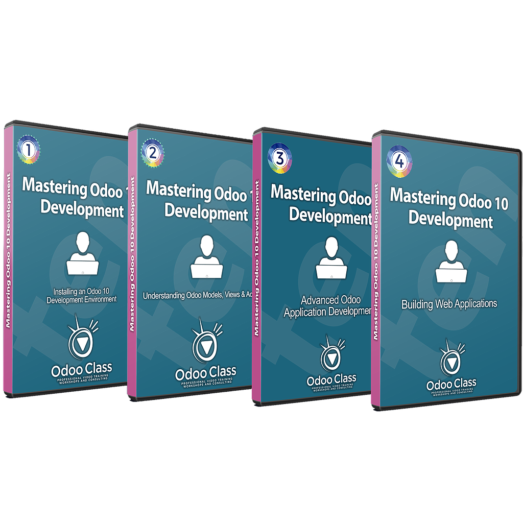 Mastering Odoo 10 Development - Complete Video Course