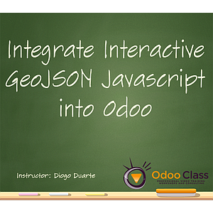 LeafletJS and GeoJSON Ajax Integrated into Odoo