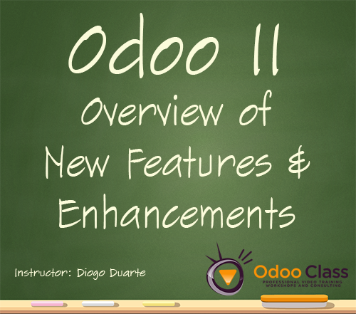 Odoo 11 : Overview of New Features and Enhancements