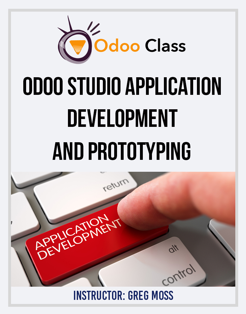 Odoo Studio Application Development & Prototyping