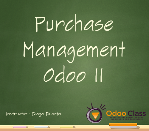 Purchase Management - Odoo 11