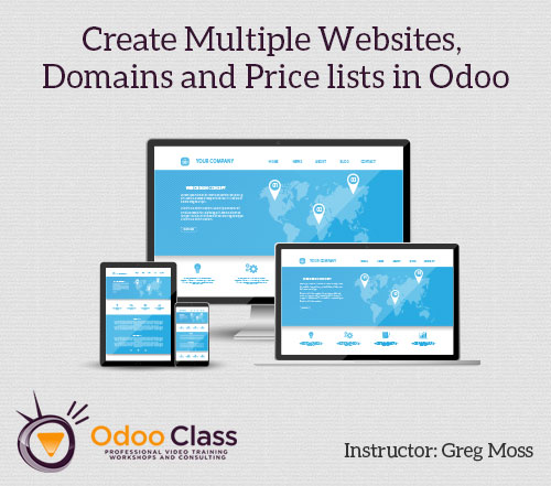 Create Multiple Websites, Domains, and Pricelists in Odoo