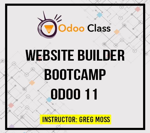 Website Builder Bootcamp Odoo 11